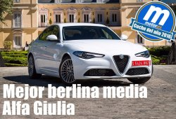 Mejor berlina media 2016 para Motor.es: Alfa Romeo Giulia