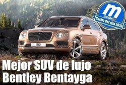 Mejor SUV de lujo 2016 para Motor.es: Bentley Bentayga