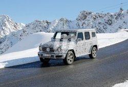 El nuevo Mercedes Clase G 2018 se enfrenta a sus primeras pruebas «invernales»