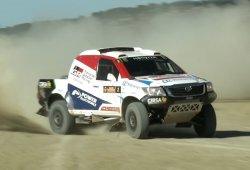 De copiloto con Nani Roma tras ganar el RallyTT de Cuenca