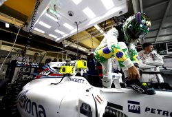 Williams regala a Massa el coche de Brasil como despedida