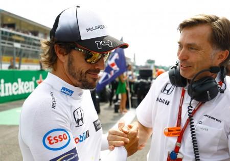 """Capito hará cambios en McLaren y """"todo lo posible"""" por retener a Alonso"""