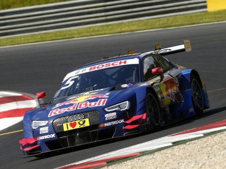Loïc Duval se subirá al Audi RS 5 DTM en el test de Jerez