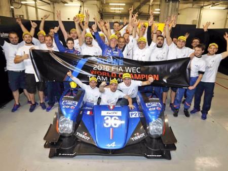 Signatech Alpine consigue el título mundial de LMP2