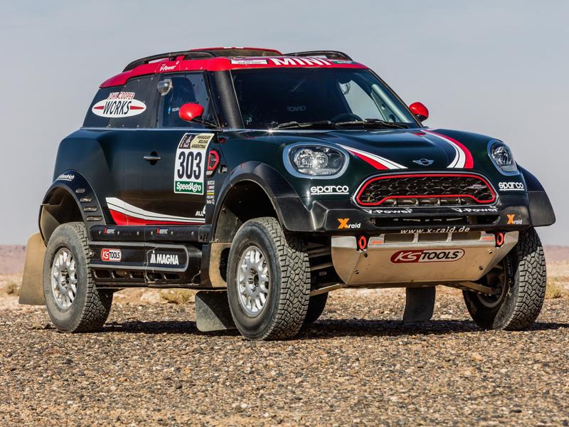 X-Raid cambia el Mini All4 Racing por el Mini JCW Rally