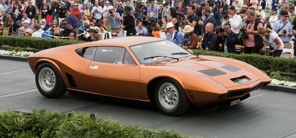 AMC AMX/3: el deportivo de motor central americano que murió nada más nacer