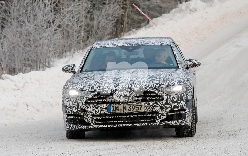 Cazado el Audi A8 2017 en sus pruebas de invierno
