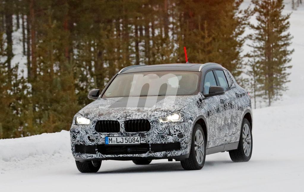 El BMW X2 2017 se traslada al norte de Suecia para continuar con su desarrollo
