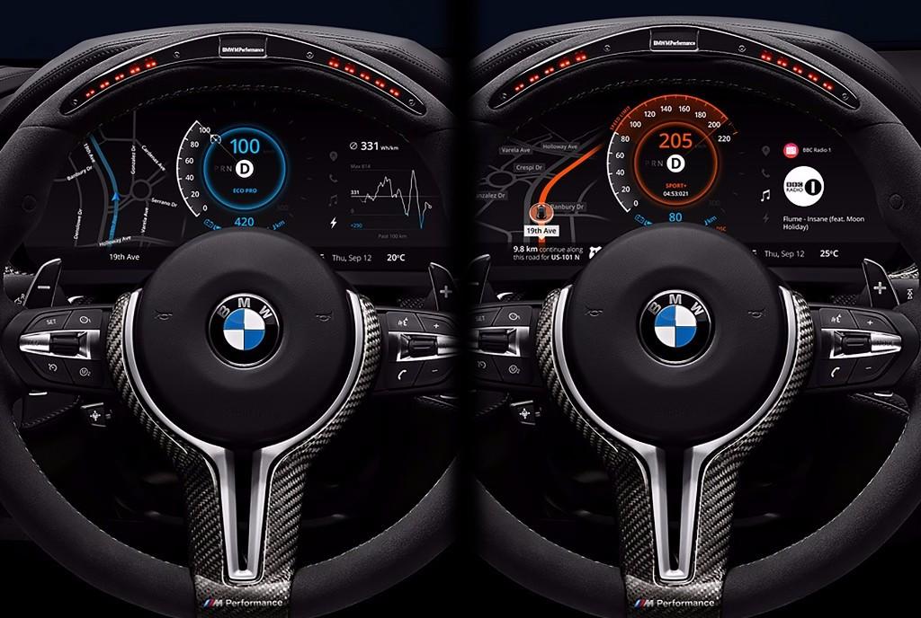 El mejor ejemplo de un avanzado BMW Virtual Cockpit