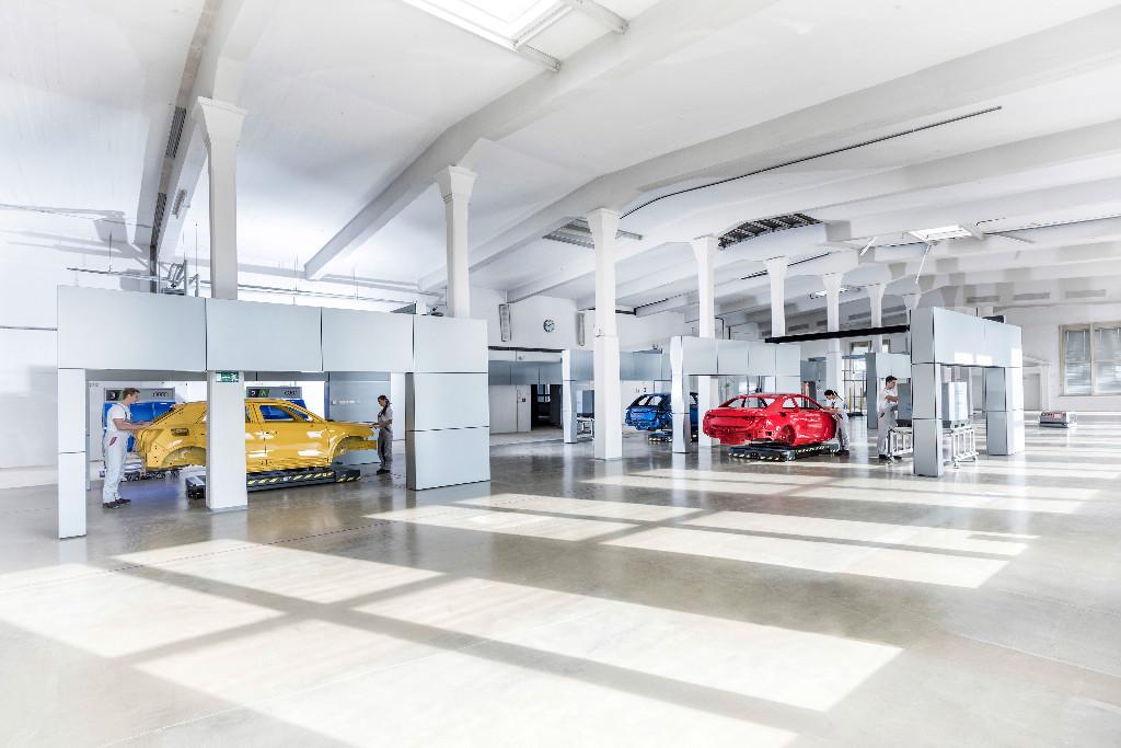 La fábrica del futuro según Audi