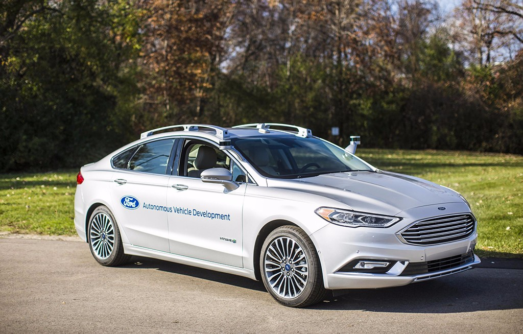 Ford presenta su nueva generación de prototipos de coches autónomos