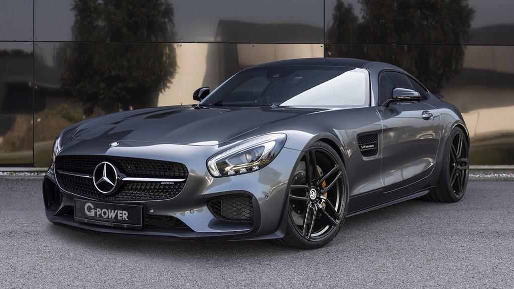 G-Power aparca su afición por BMW y se atreve con el Mercedes-AMG GT