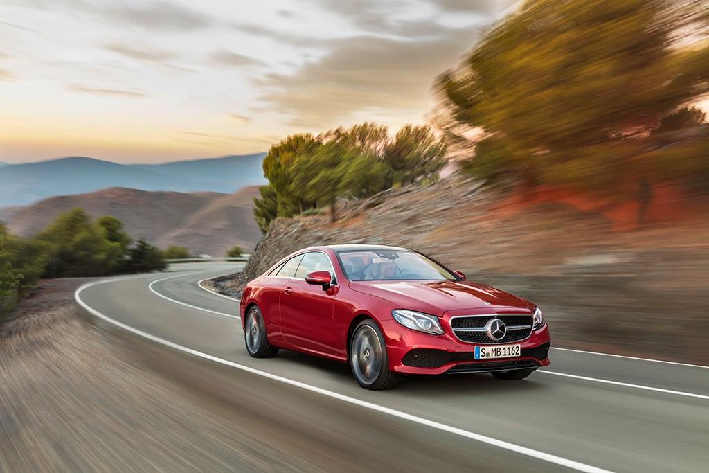 Mercedes Clase E Coupé 2017: estilo y deportividad