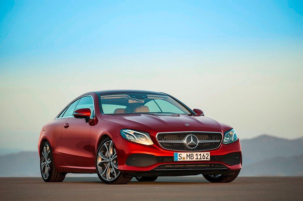 Mercedes Clase E Coupé 2017: Todas sus novedades en 5 claves