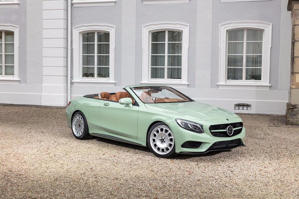 Diospyros: la nueva creación de Carlsson sobre el Mercedes Clase S Cabrio