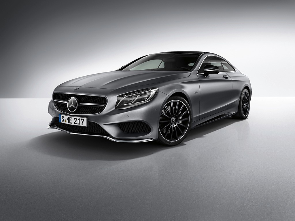 Mercedes Clase S Coupé Night Edition: disponible en Europa desde abril de 2017