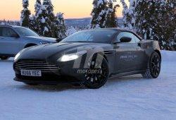 Aston Martin DB11 Volante 2018: primeras fotos espía de la variante descapotable