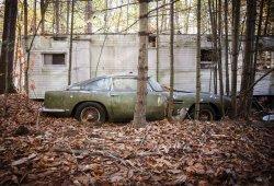 Este Aston Martin DB4 1961 abandonado será una de las estrellas en Scottsdale