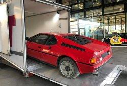 Rescatan un BMW M1 olvidado que llevaba 34 años acumulando polvo