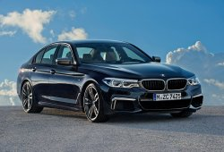 BMW M550i xDrive: por el momento, el más potente de la gama del BMW Serie 5 2017