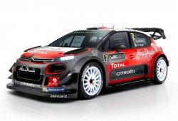 Citroën Racing desvela el nuevo Citroën C3 WRC 2017