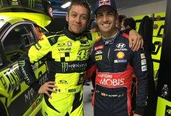 Dani Sordo y Valentino Rossi, duelo en el Monza Rally Show