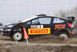 Evans ve en Kalle Rovanpera el Max Verstappen del WRC