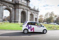 Con o sin conductor, el filón de los coches eléctricos en Madrid