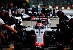"""Grosjean pone """"un ocho o un nueve"""" a la temporada de Haas"""