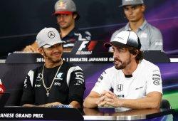"""Hamilton: """"Que venga Alonso no me preocupa, pero probablemente no es lo mejor"""""""