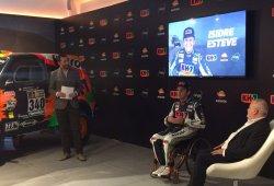 Dakar 2017: Isidre Esteve presenta su proyecto