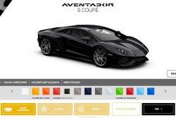 El configurador del Lamborghini Aventador S ya está abierto, ¿creamos una bestia?