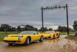 Lamborghini Miura: Retorno a la finca andaluza de los Miura para conmemorar los 50 años del modelo
