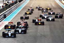 Las estadísticas de la temporada 2016 de Fórmula 1