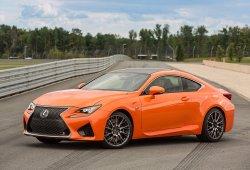 Lexus RC F 2017: novedades estéticas y suspensión AVS