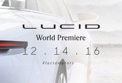 Lucid Motors confirma la fecha de presentación de su berlina eléctrica