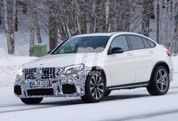 Mercedes AMG GLC63 Coupe: Cazada por primera vez la versión AMG