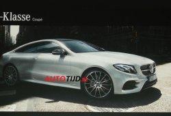 Filtrado: Nuevo Mercedes Clase E Coupé 2018 y su gama al completo