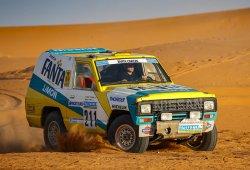 Nissan restaura el Patrol 'Fanta Limón' del Dakar 1987