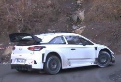 Nuevo test de Dani Sordo con el Hyundai i20 WRC 2017