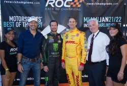La Race of Champions 2017 se nutre de pilotos americanos