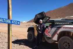 Test en elevada altitud del Peugeot 3008 DKR en Chile
