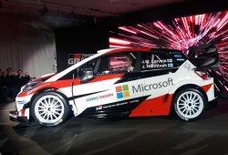 El equipo Toyota Gazoo Racing WRC se presenta en Helsinki