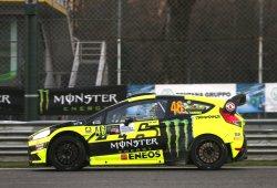 Valentino Rossi afianza su liderato del Monza Rally Show
