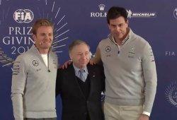 [Vídeo] Un emocionado Rosberg anuncia su retirada de la F1