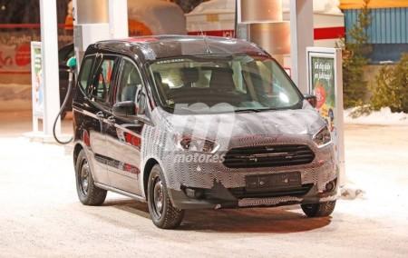 Ford Tourneo Courier 2018: continúa el desarrollo de la próxima puesta a punto