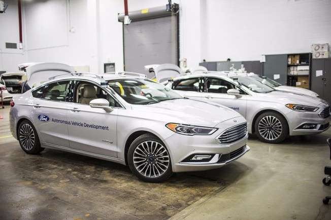 Ford Coches Autónomos