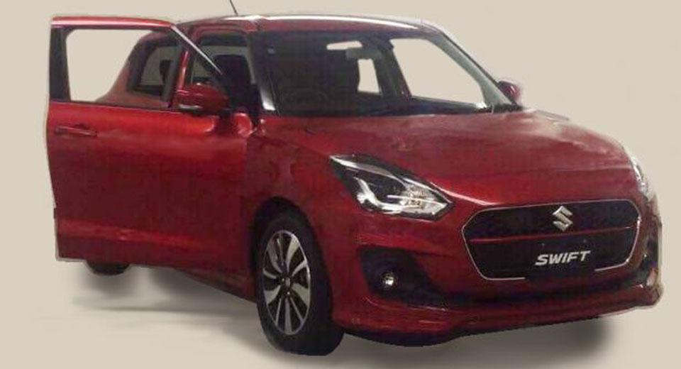 Suzuki Swift 2017: ¿Filtrada su primera imagen definitiva?