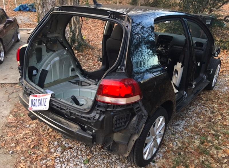 Volkswagen USA reacciona: Se pospone la devolución de un Golf TDI salvajemente despiezado