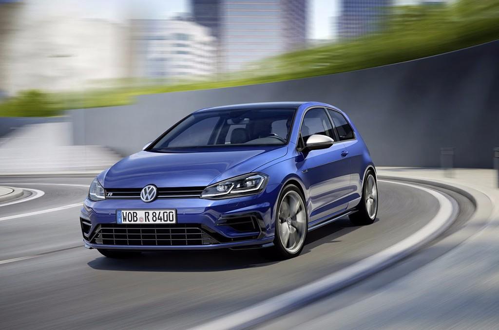Volkswagen Golf R 2017: más potencia para la renovación del Golf más radical